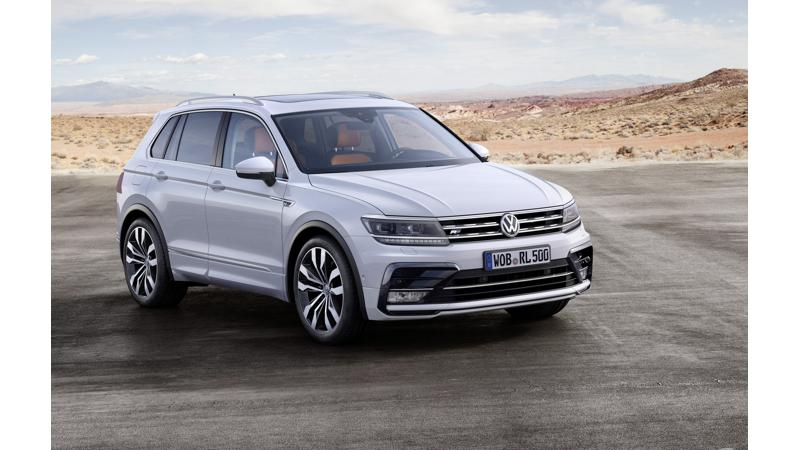 Volkswagen Tiguan likely to be introduced in May