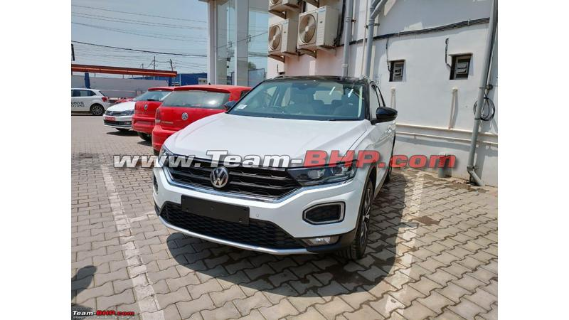 Volkswagen T-Roc arrives at dealerships in India