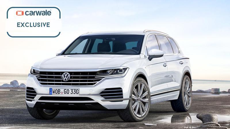 We render Volkswagen's next-generation Touareg
