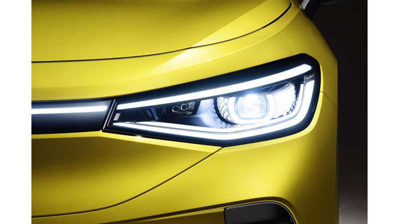 Volkswagen reveals light design for the ID.4 electric SUV