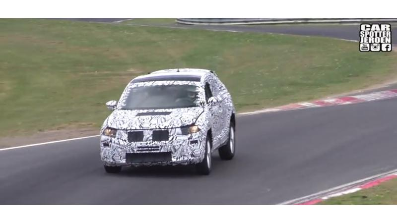 Volkswagen Polo crossover spotted on test at the Ring