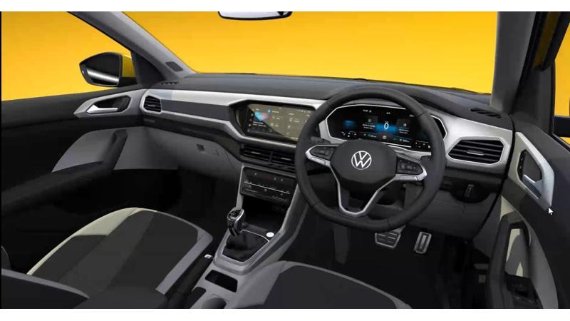 India-bound Volkswagen Taigun interior details revealed