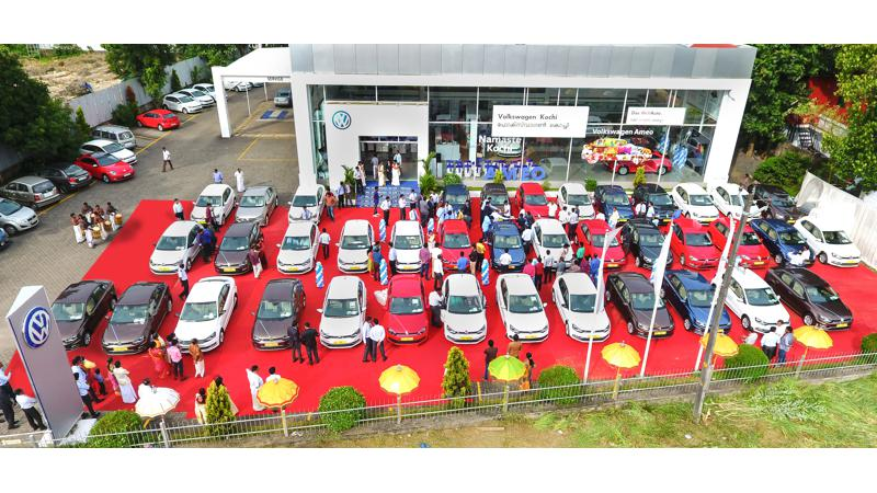 Volkswagen India witnesses record deliveries on first day of Malayalam New Year