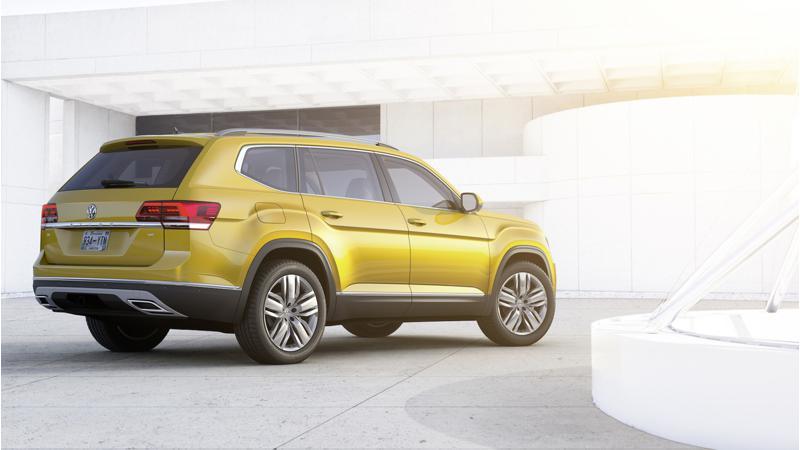 Volkswagen reveals Atlas SUV