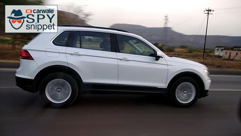 Volkswagen Passat and Tiguan Spotted Doing Test Rounds Ahead of India launch