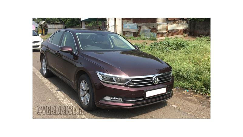 Next-generation VW Passat diesel snapped testing in India ahead of launch