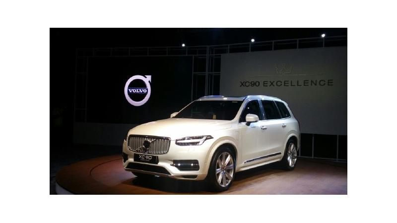 Volvo XC90 Excellence T8 launched at Rs 1.25 crore
