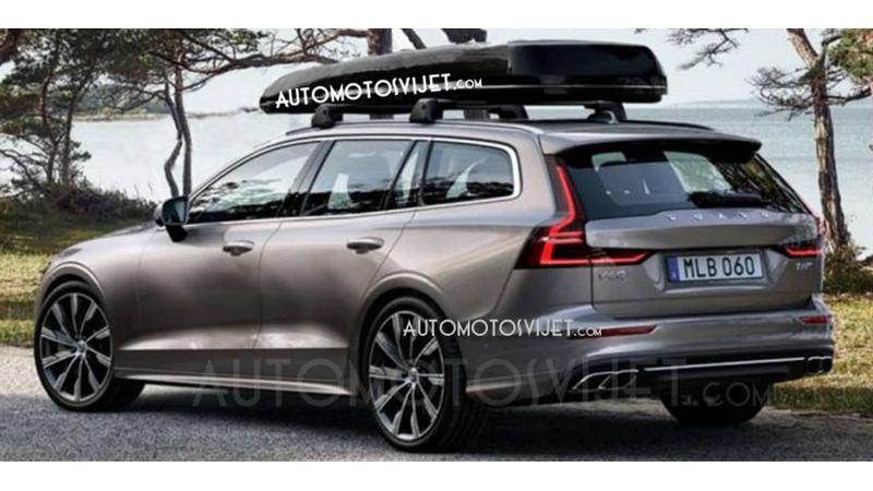 Production-spec Volvo V60 images leaked ahead of 21 February unveiling