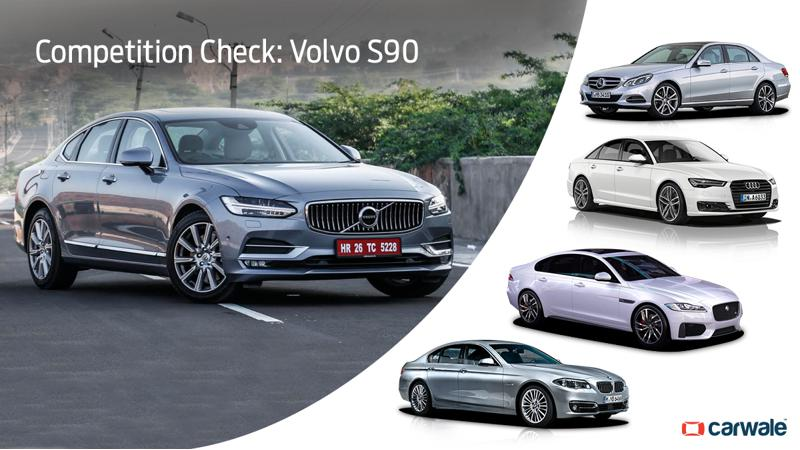 Competition Check: Volvo S90