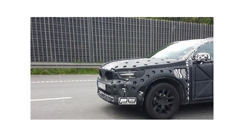 Volvo XC40 spied testing in Europe