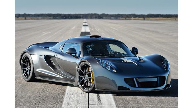 World's Fastest Convertible: The record-breaking Hennessey Venom GT Spyder