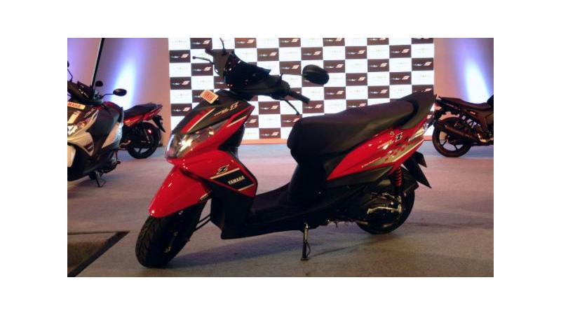 Yamaha Ray Z scooter launched at Rs. 48,555 (ex-showroom Delhi)