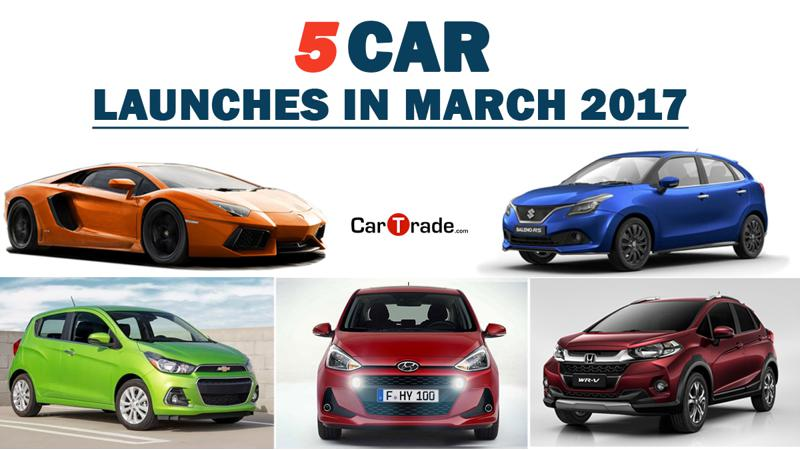 5 car launches in India expected in March 2017