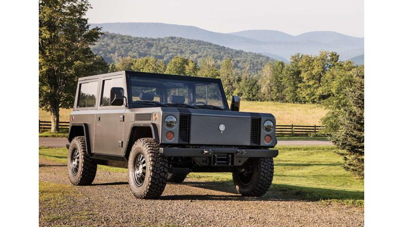 Bollinger B1 electric off-roader to debut in 2019