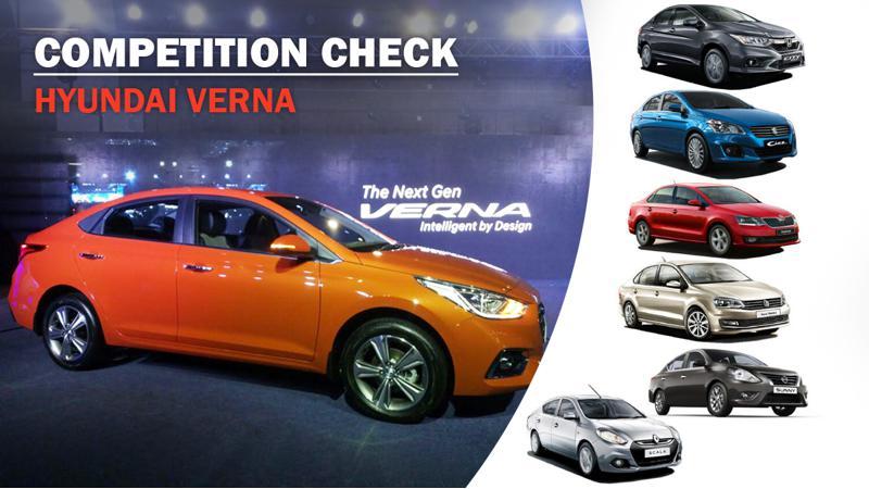 Competition Check Hyundai Verna