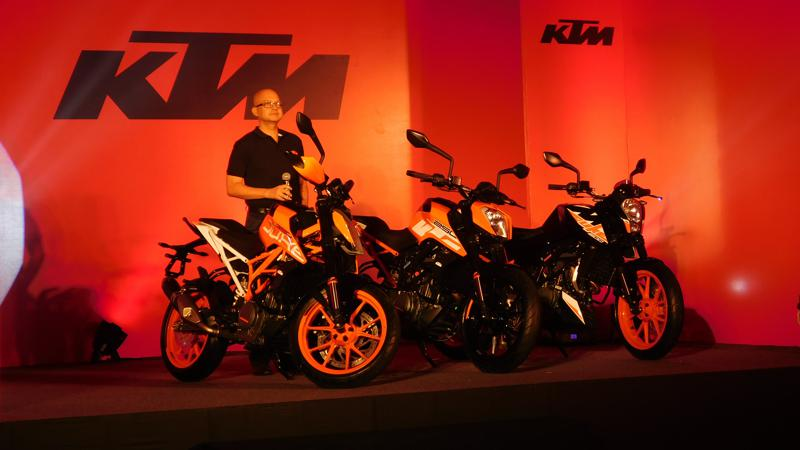 KTM launches 200 Duke facelift in India at Rs 1.43 lakh