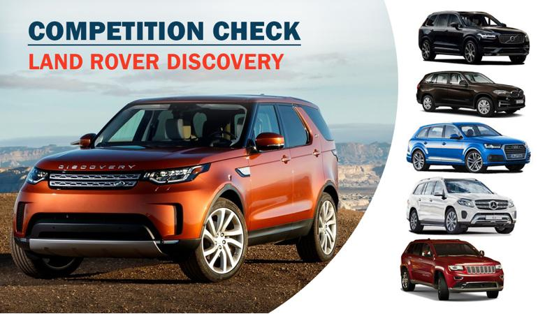 Competition Check Land Rover Discovery