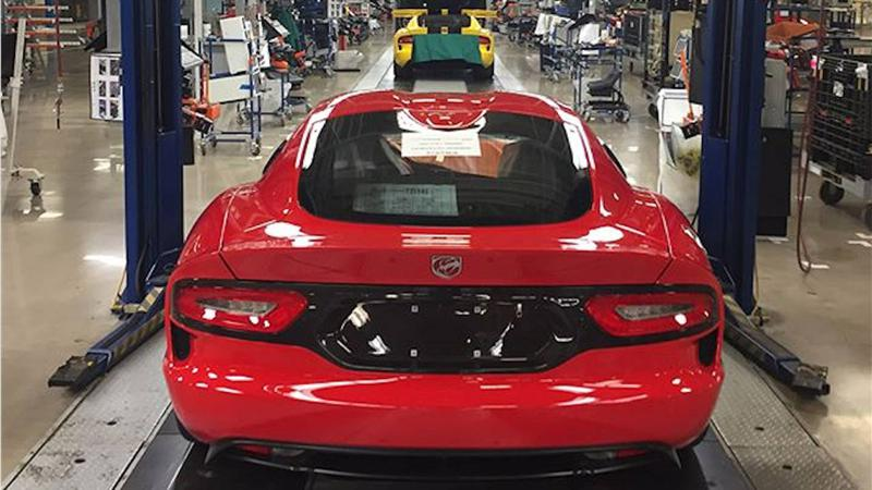 Dodge Viper production ends, again