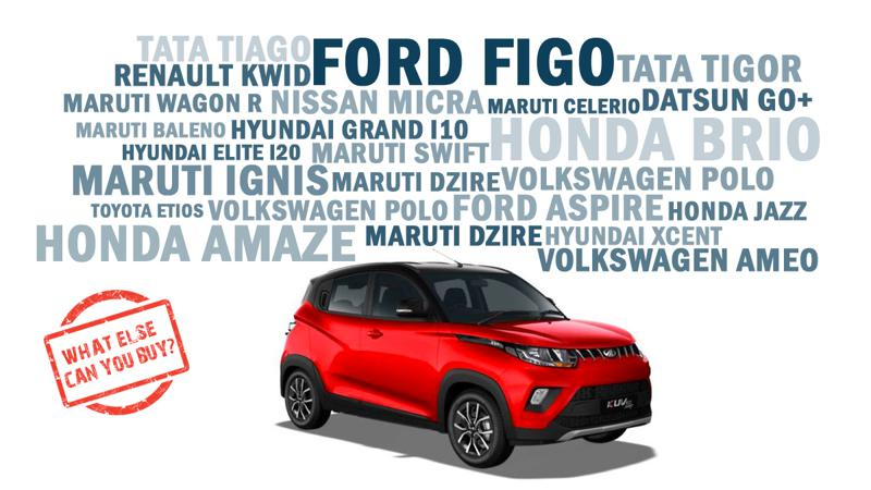 Mahindra KUV100 NXT What else can you buy
