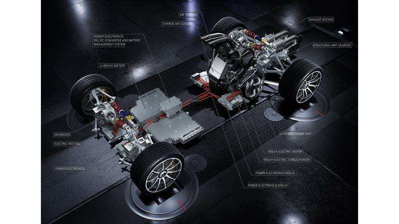 Mercedes-AMG Project One layout revealed