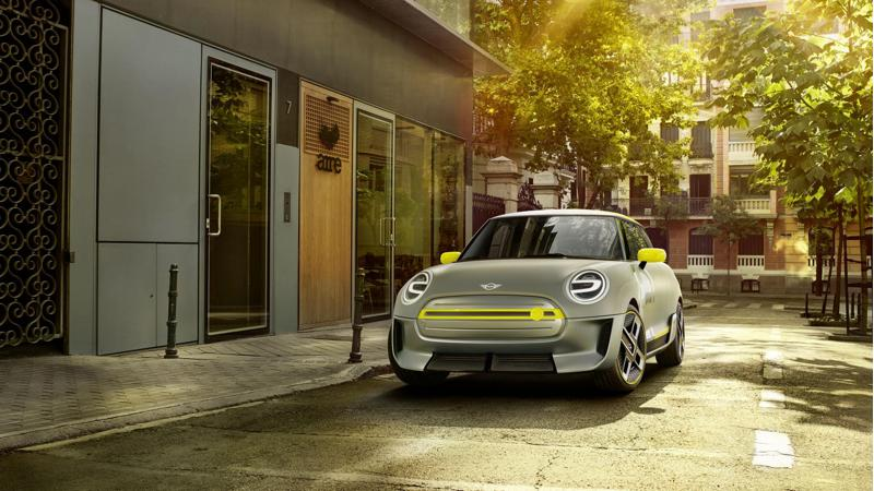 Mini previews Electric Concept before Frankfurt