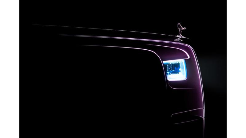 Rolls Royce Phantom eighth generation to be revealed tomorrow