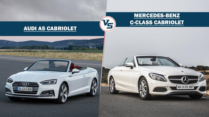 Spec Comparo: Audi A5 Cabriolet vs Mercedes-Benz C300 Cabriolet