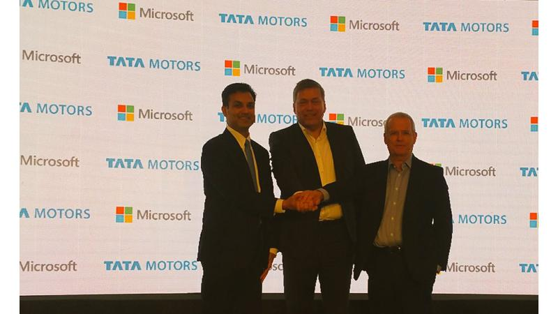 Tata Motors partners Microsoft to build connected cars
