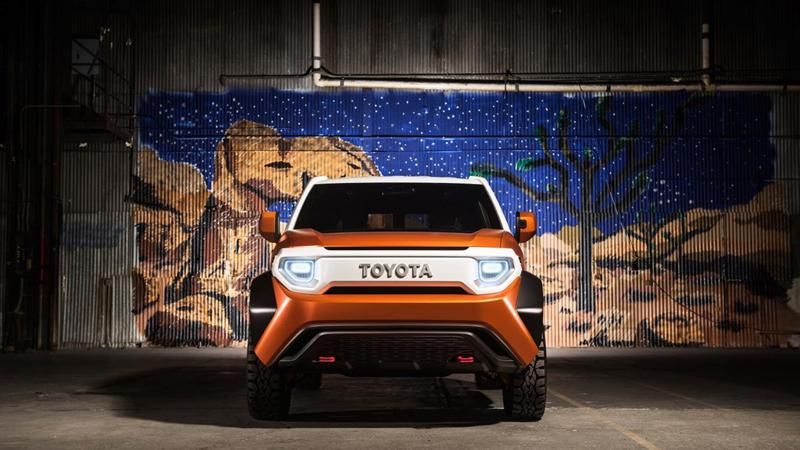 New Toyota FT-4X debuts in New York