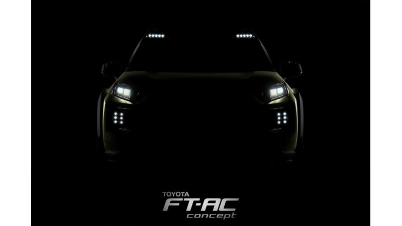 Toyota FT-AC SUV teased before LA debut