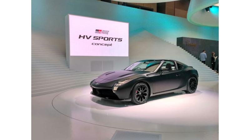 Tokyo Motor Show 2017: Toyota reveals GR HV Sports concept