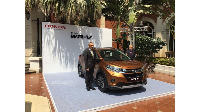 Honda launches WR-V in Mumbai for Rs 7.82 lakh