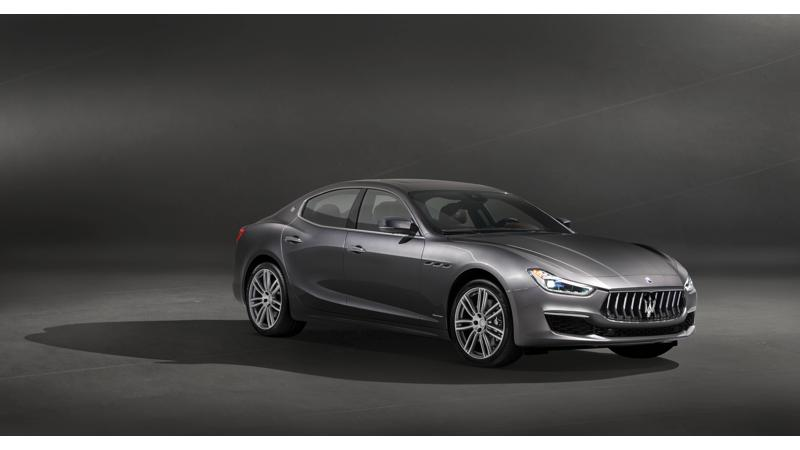 Maserati reveals the updated Ghibli GranLusso