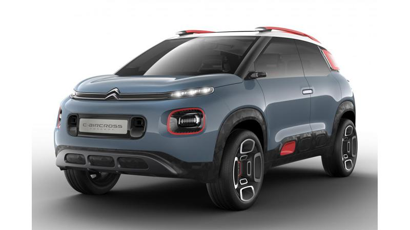 Citroen   s concept for Geneva Motor Show to preview upcoming compact SUV