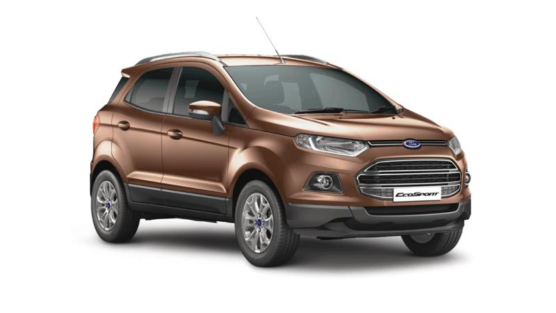 Ford EcoSport gets dual front airbags as standard