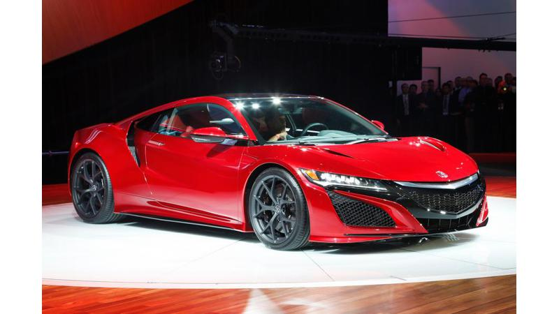 Acura launches all-new NSX in China