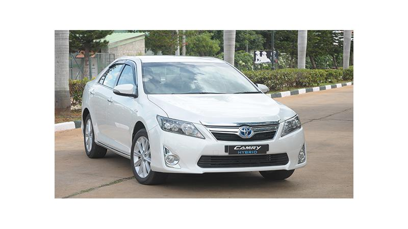 Hybrid version accounts for 90 per cent of Toyota Camry sales in India
