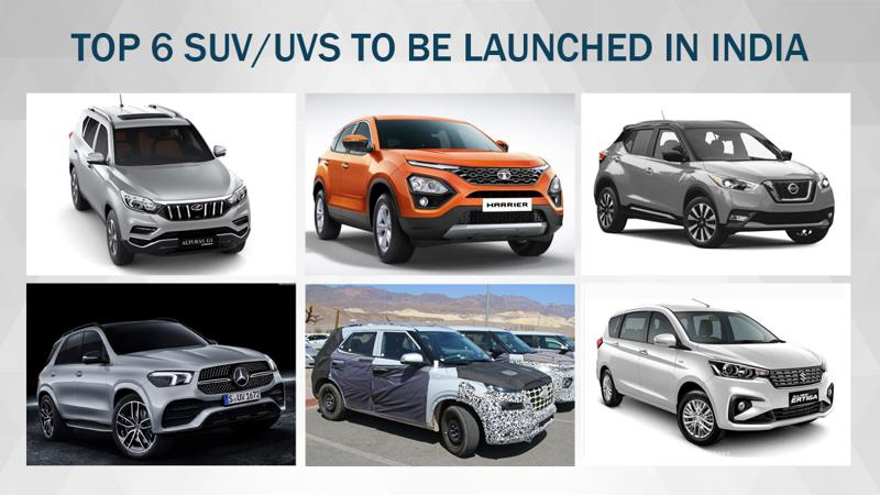 6 SUV and UVs that will soon be launched in India