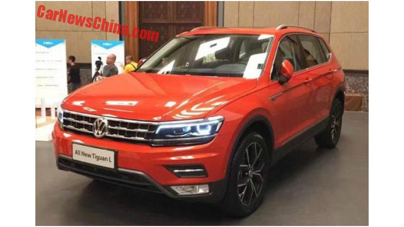 Volkswagen Tiguan LWB spied yet again