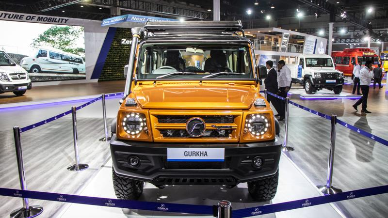 Force Motors Gurkha BS6