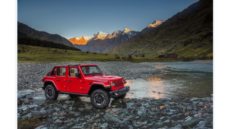 Jeep Wrangler Facelift