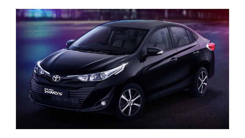 Toyota Yaris Black Limited Edition Photos