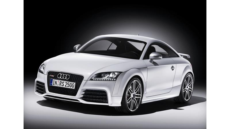 Audi TT RS - Sporty Powerhouse with Five Cylinders