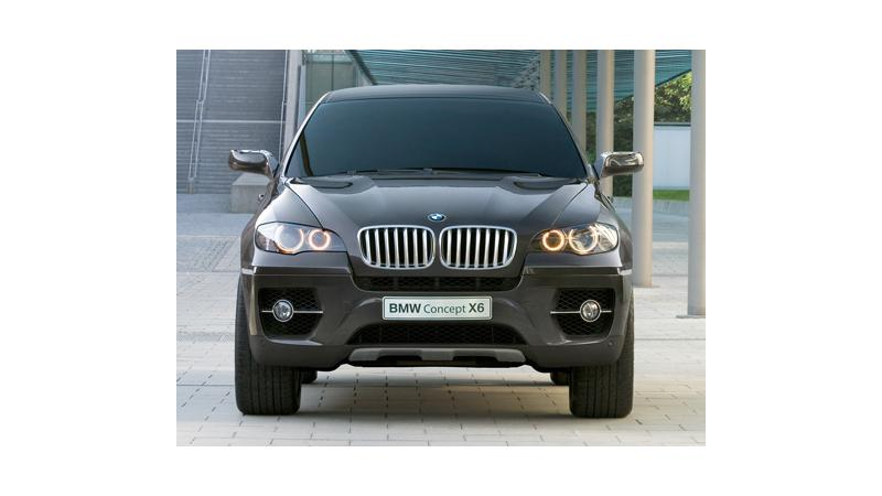 BMW X6 Unveiled