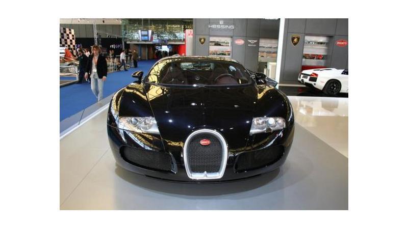 Bugatti Veyron  Rs. 7.5 crore Car Now Showing at AutoRAI, Amsterdams