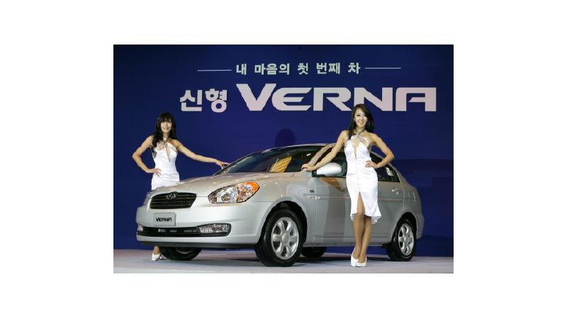 New Hyundai Verna in January