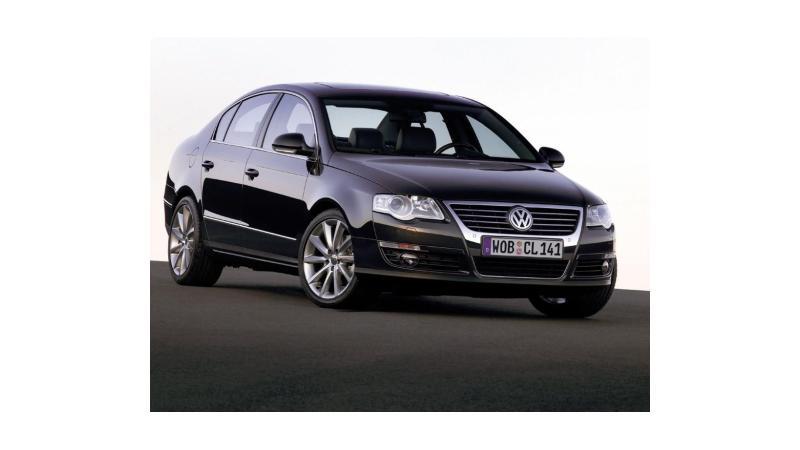 Volkswagen Passat with a New Engine