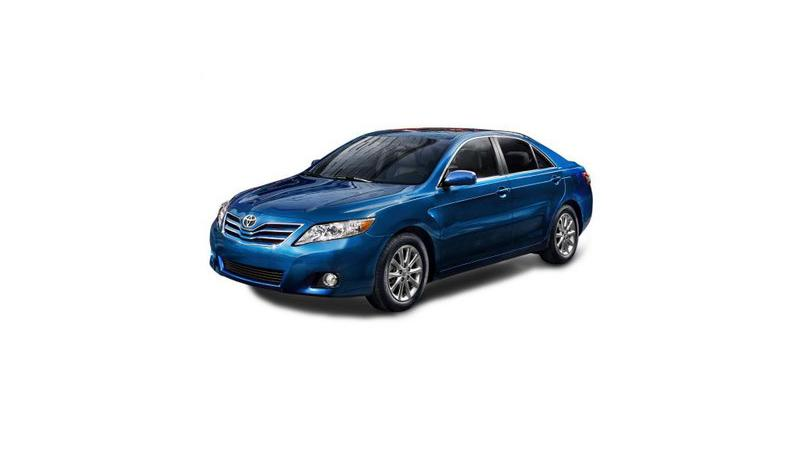 New Facelifted Toyota Camry