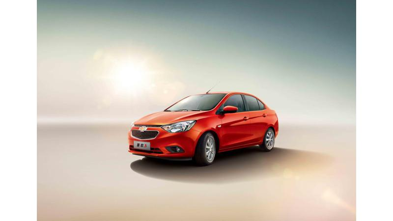 All new Chevrolet Sail unveiled