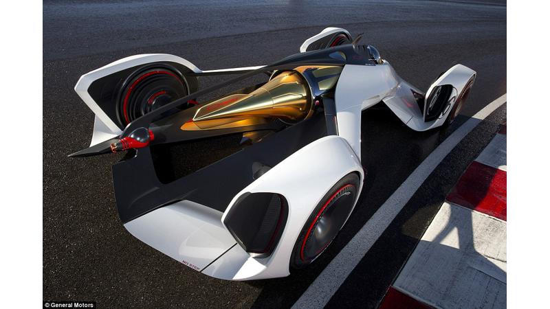 Chevrolet unveils laser-powered car for Gran Turismo 6 fans